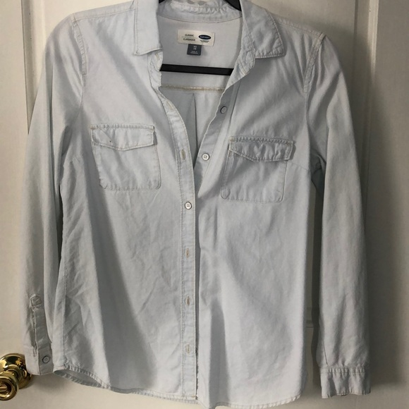 Old Navy Tops - Women's Old Navy Long Sleeve Button Up Shirt XS